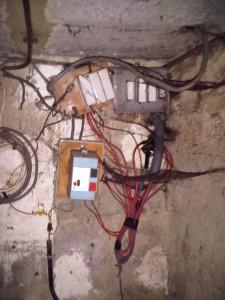 Installation électrique, avant remise aux normes